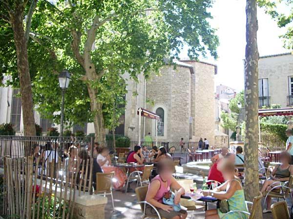 Restaurant Montpellier Place Saint Roch