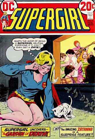 Les aventures érotiques de supergirl