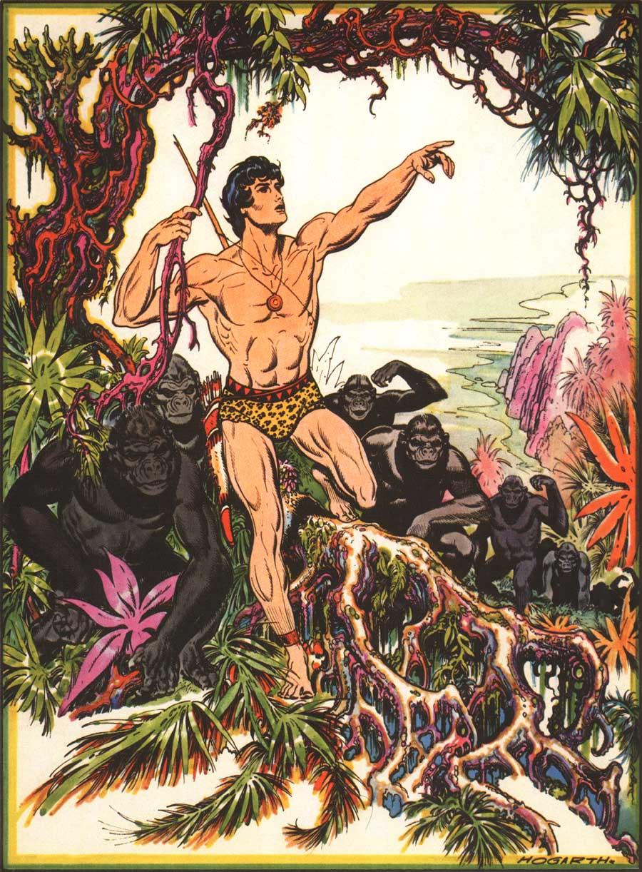 Cliquer sur l'image pour revenir aux BD de Tarzan)